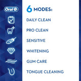 Oral-B Genius 9000 3D White Electric Toothbrush - Rose Gold