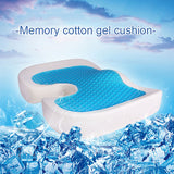Orthopedic Cool Gel & Memory Foam Enhanced Seat Cushion