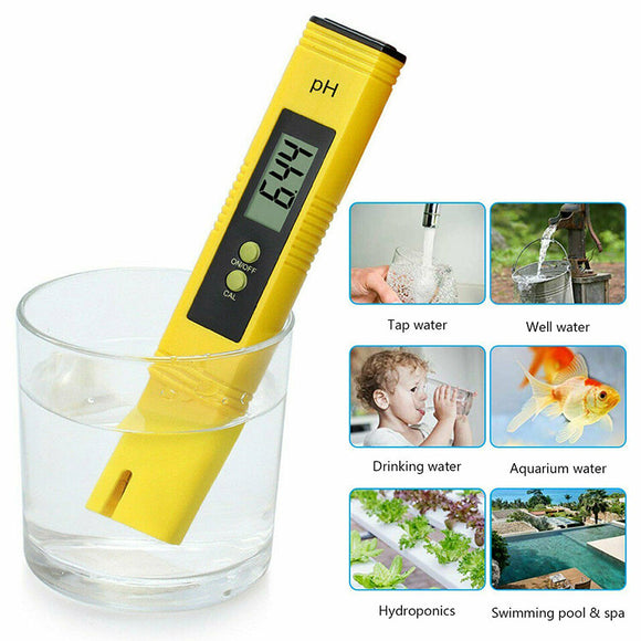 PH Meter LCD Digital Electric Tester Pen