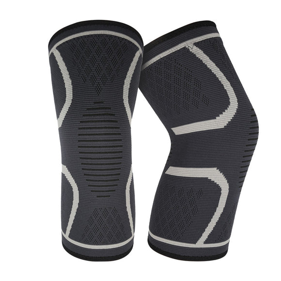 2pcs Athletics Knee Compression Brace Support for Running Jogging Sports