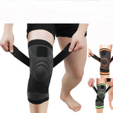 2pcs Compression Knee Brace Support with Adjustable Straps
