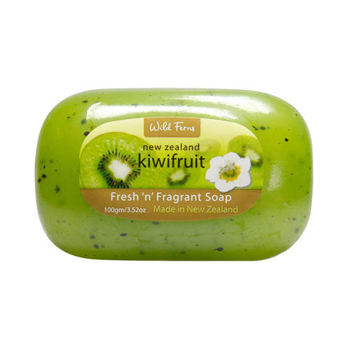 Parrs Wild Ferns Kiwifruit Fresh & Fragrant Soap 100g