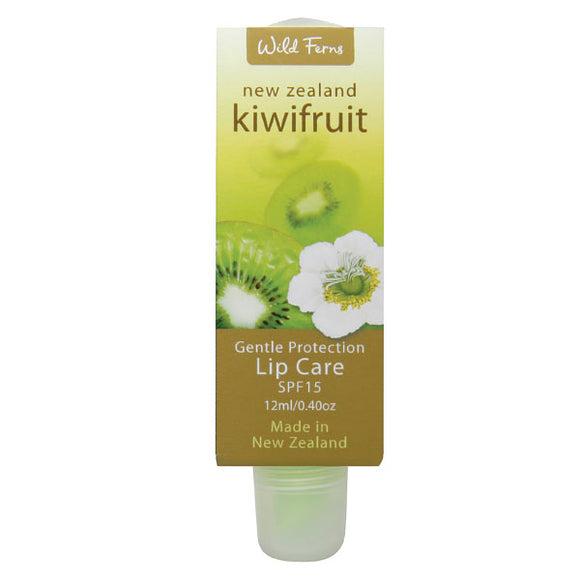 Parrs Wild Ferns Kiwifruit Gentle Protection Lip Care SPF15+ 12ml