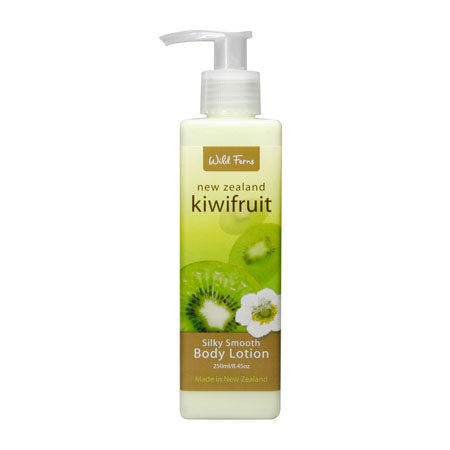 Parrs Wild Ferns Kiwifruit Silky Smooth Body Lotion 240ml