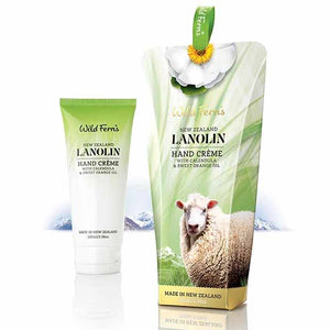 Parrs Wild Ferns Lanolin Hand Creme with Calendula and Sweet Orange Oil 100ml