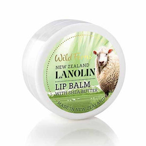 Parrs Wild Ferns Lanolin Lip Balm with Shea Butter 18g