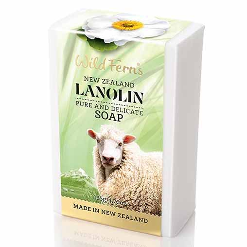 Parrs Wild Ferns Lanolin Soap 135g