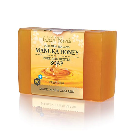 Parrs Wild Ferns Manuka Honey Pure and Gentle Soap 135g