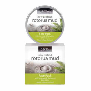 Parrs Wild Ferns Rotorua Mud Face Pack with Lavender & Bergamot 250g