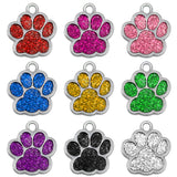Paw Shape Personalized Dog Cat Tags Free Engraved Nameplate