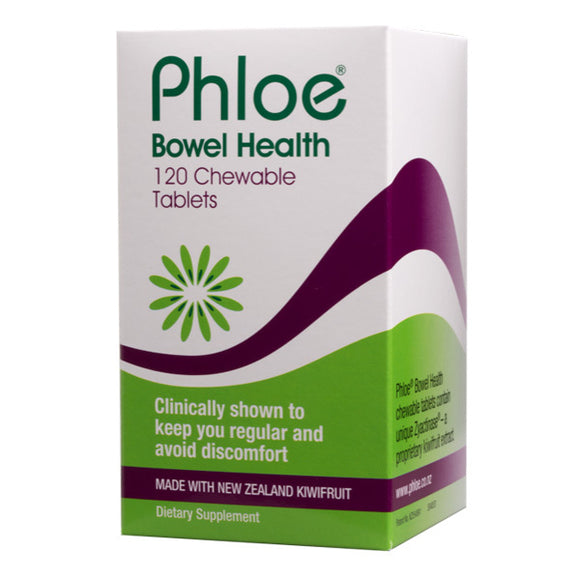 Phloe Bowel Health 120 Chewable Tabs