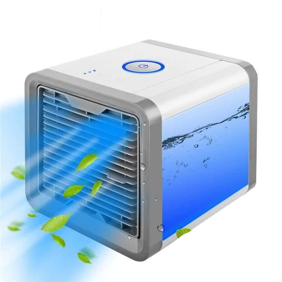 Portable Mini Air Conditioner Cooler Humidifier Purifier LED Night Light