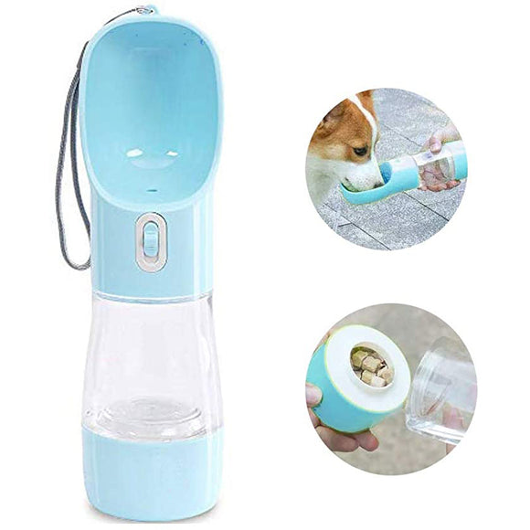 Portable Pet Dog Water Dispenser Bottle Feeder Bowl