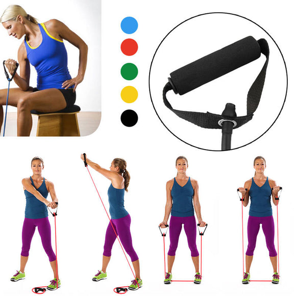 Portable Pilates Yoga Resistance Stretch Exercise Band