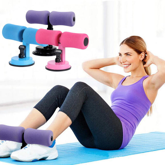Portable Self-Suction Sit-up Bar Abdominal Core Trainer