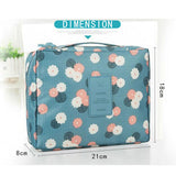 Portable Multifuncation Travel Makeup Toiletry Bag Organizer Case