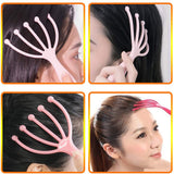 2pcs Protable Hand Held SPA Head Scalp Massager