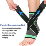 2pcs Protective Compression Sports Ankle Brace Strap Sleeves