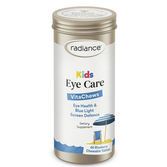 Radiance Kids Eye Care 60 Blueberry Chewable Tablets