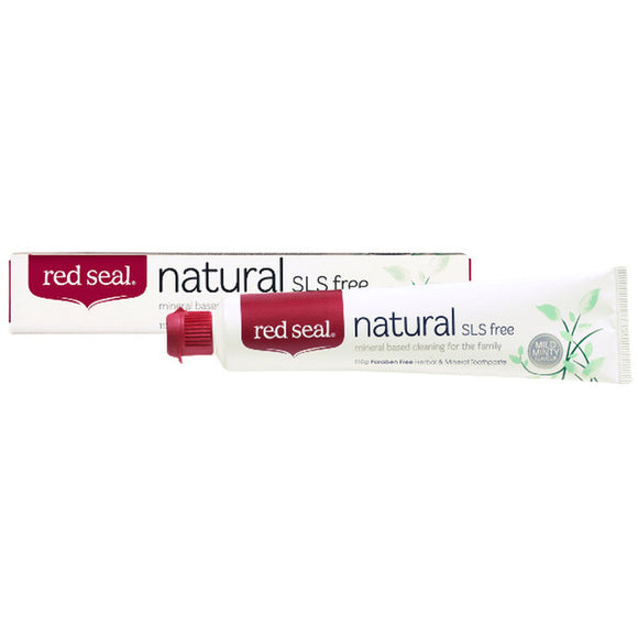 Red Seal Natural SLS free Toothpaste - 100g