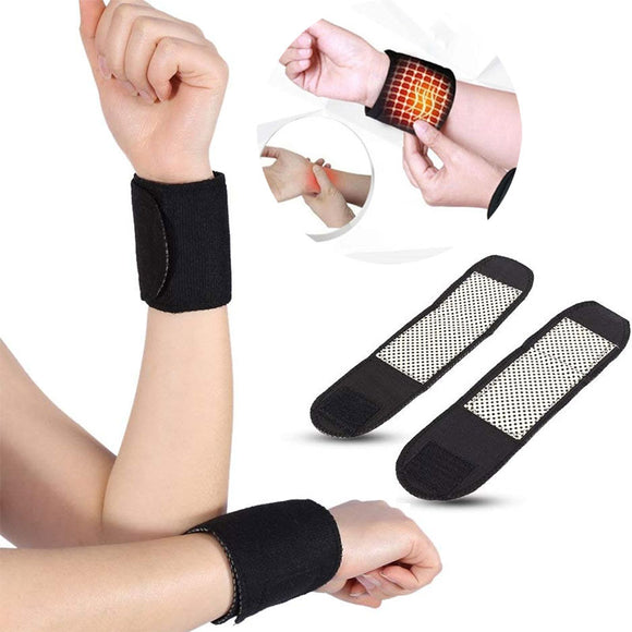 Self-Heating Tourmaline Pain Relief Warm Wristband Brace