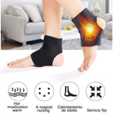 Self-Heating Tourmaline Thermal Infrared Magnetic Therapy Ankle Brace