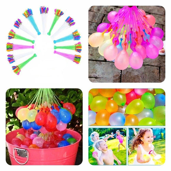 111pcs/pack Self Sealing Water Balloons for Water Fight Games