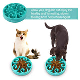 Slow Feeder Dog Bowl for Large Medium Small Dogs Cats