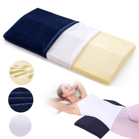 Soft Memory Foam Laumbar Support Sleeping Pillow for Lower Back Pain