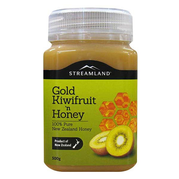 Streamland Gold Kiwifruit Honey 500g