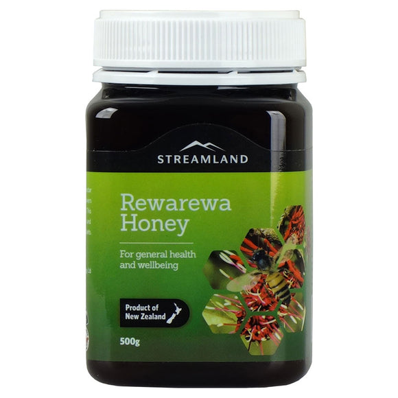 Streamland Rewarewa Honey