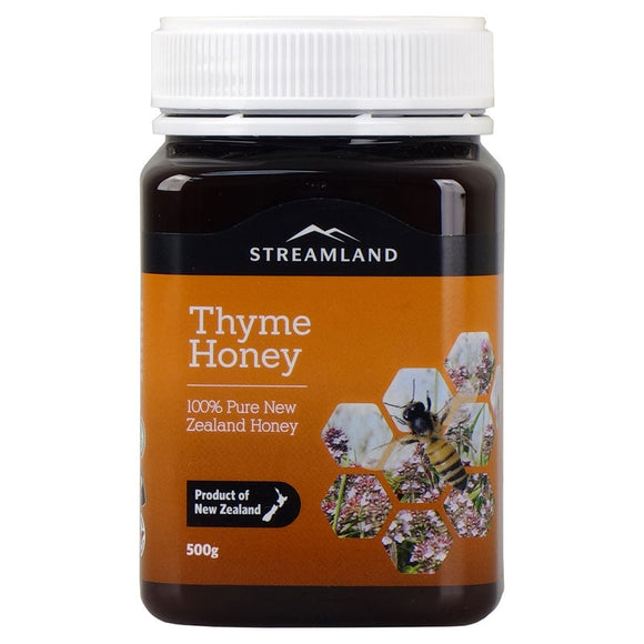 Streamland Thyme Honey