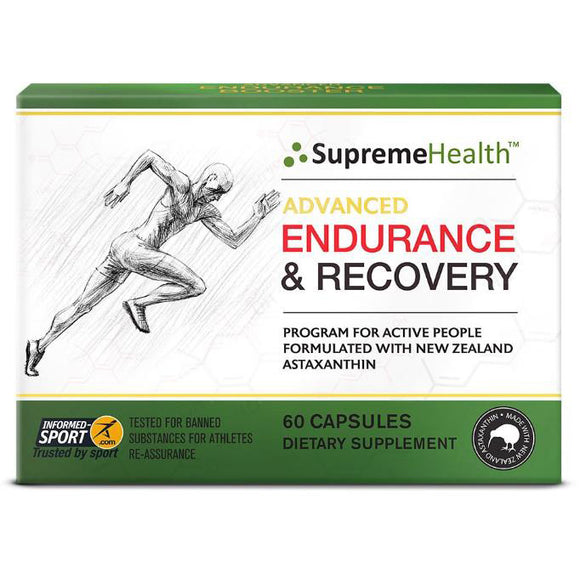 SupremeHealth Advanced Endurance & Recovery 60 Capsules