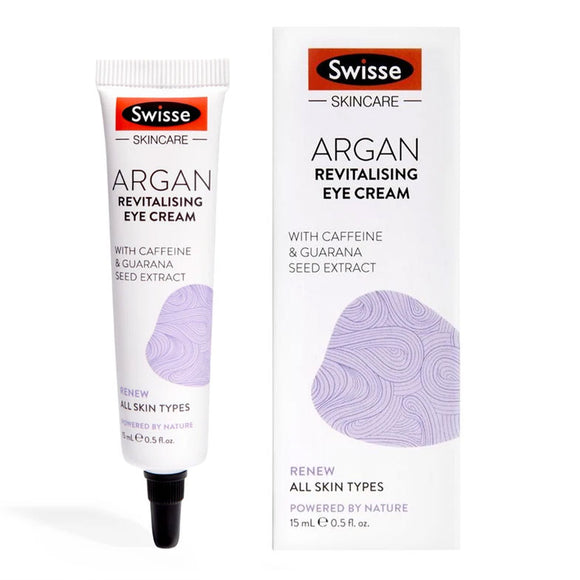 Swisse Argan Anti-Aging Eye Cream 15ml