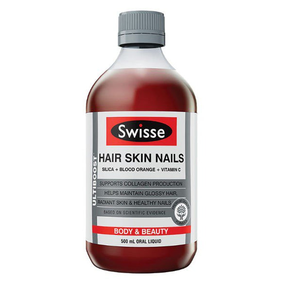 Swisse Hair Skin Nails Liquid - 500ML