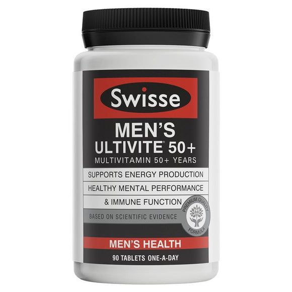 Swisse Men's Ultivite 50+ 90 Tablets