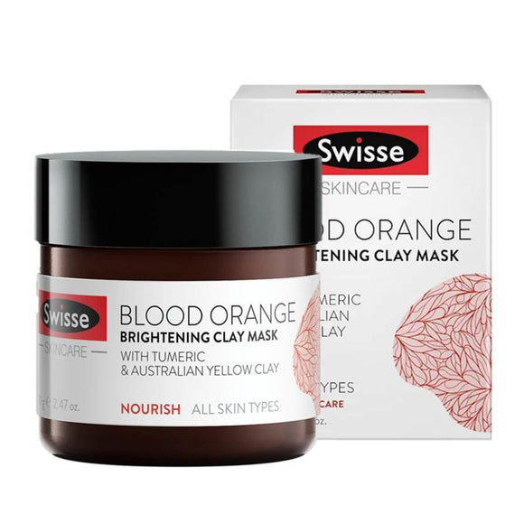 Swisse Skincare Blook Orange Brightening Clay Mask 70g