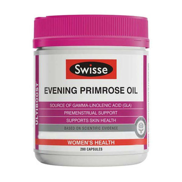 Swisse Ultiboost Evening Primrose Oil - 200 Capsules