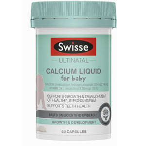 Swisse Ultinatal Calcium Liquid for Baby 60 Capsules