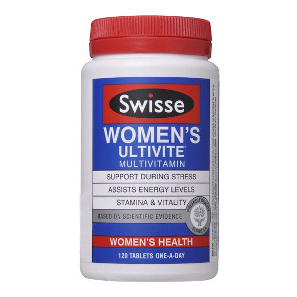 Swisse Women's Ultivite Multivitamin - 120 Tablets