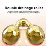 Electric 3D Roller Stick Massager 24K Golden Face Slimming Tools