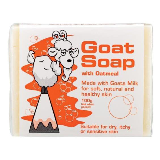 The Goat Australia Goat Soap 100g - with Oatmeal