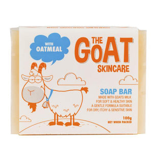 The Goat Handmade Skin Soap 100g - with Oatmeal