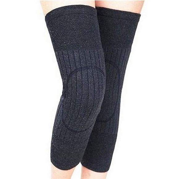 Thicken Lengthen Winter Wool Knee Braces Warmer