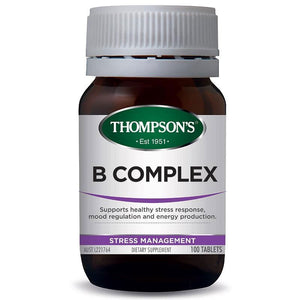 Thompson's B Complex - 100 Tablets