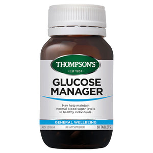 Thompson's Glucose Manager - 60 Tablets