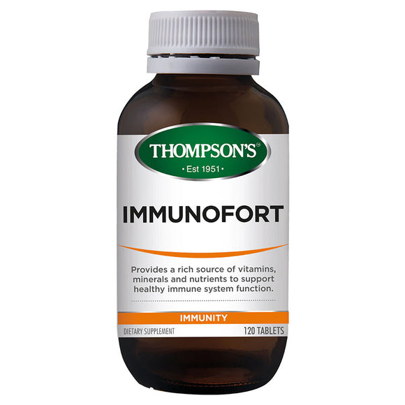 Thompson's Immunofort 120 Tablets