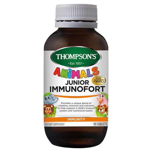 Thompson's Junior Immunofort 90 Chewable Tablets