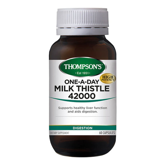Thompson's One-A-Day Milk Thistle 42000mg - 60 Capsules