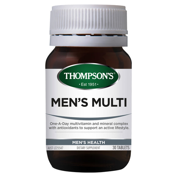 Thompson's Men's Multi - 30 Tablets